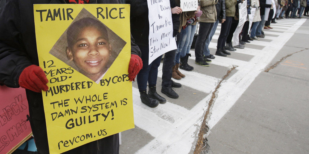 Tamir Rice peace rally