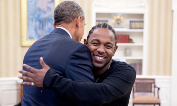 OG Prez B with young rap legend K.Dot