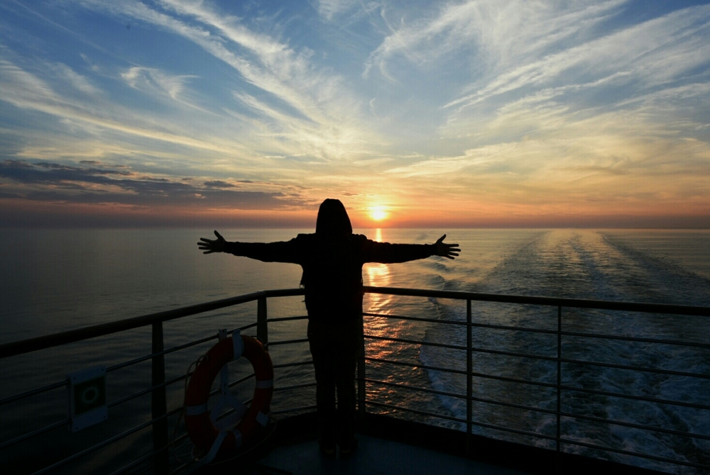 Ferrying from Québec to New Brunswick