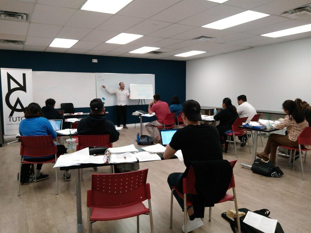 NCA Tutor Classes