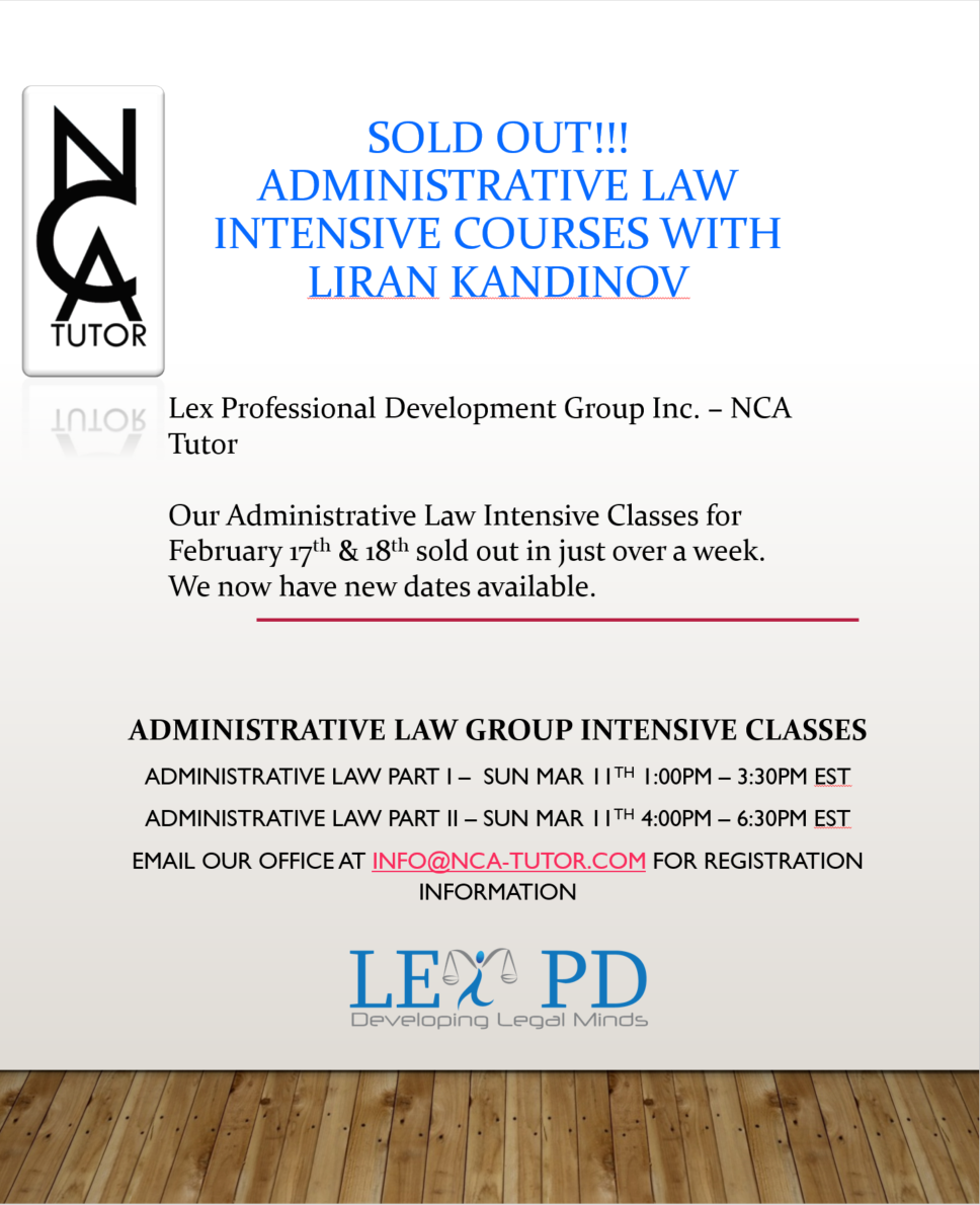Administrative Law Intensive Class - April 2018.PNG