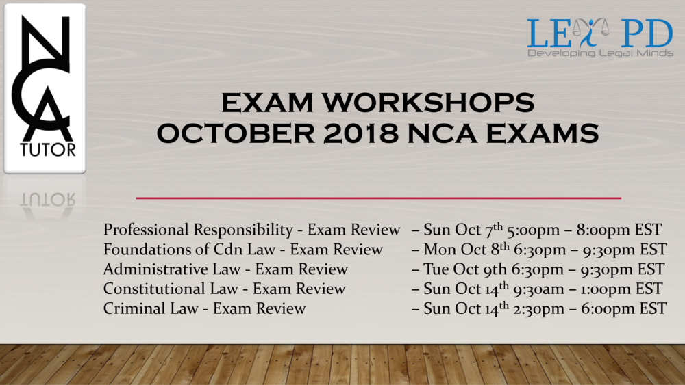 October 2018 Exam Workshops.PNG