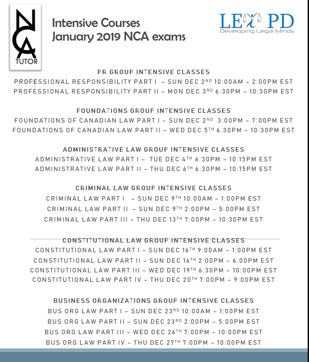 Intensive Class Schedule - January 2019 - NCA Tutor.PNG