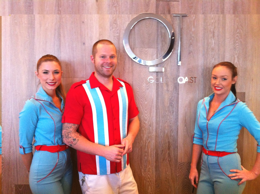 QT Gold Coast Hotel front office staff