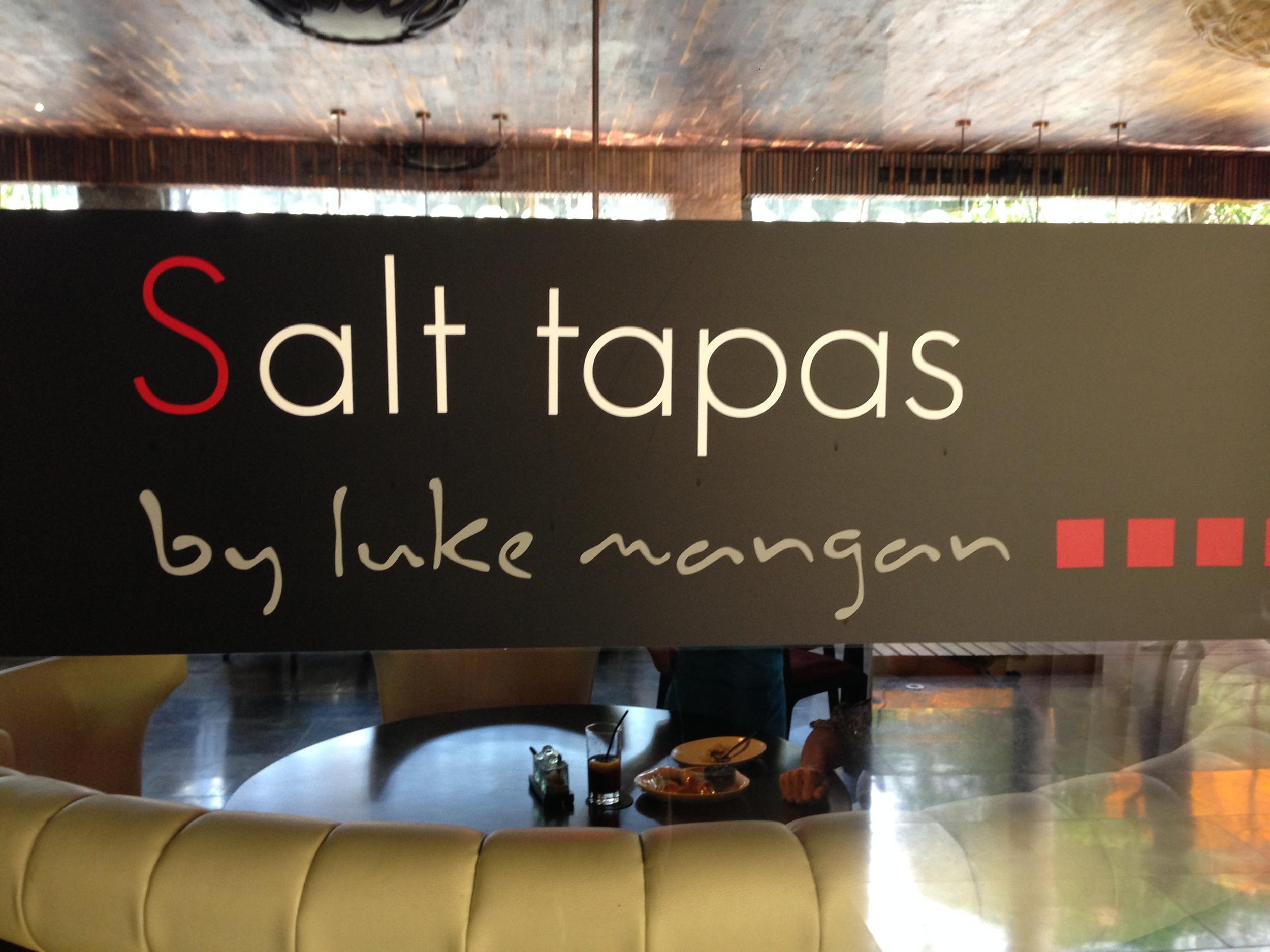 Salt Tapas by Luke Mangan