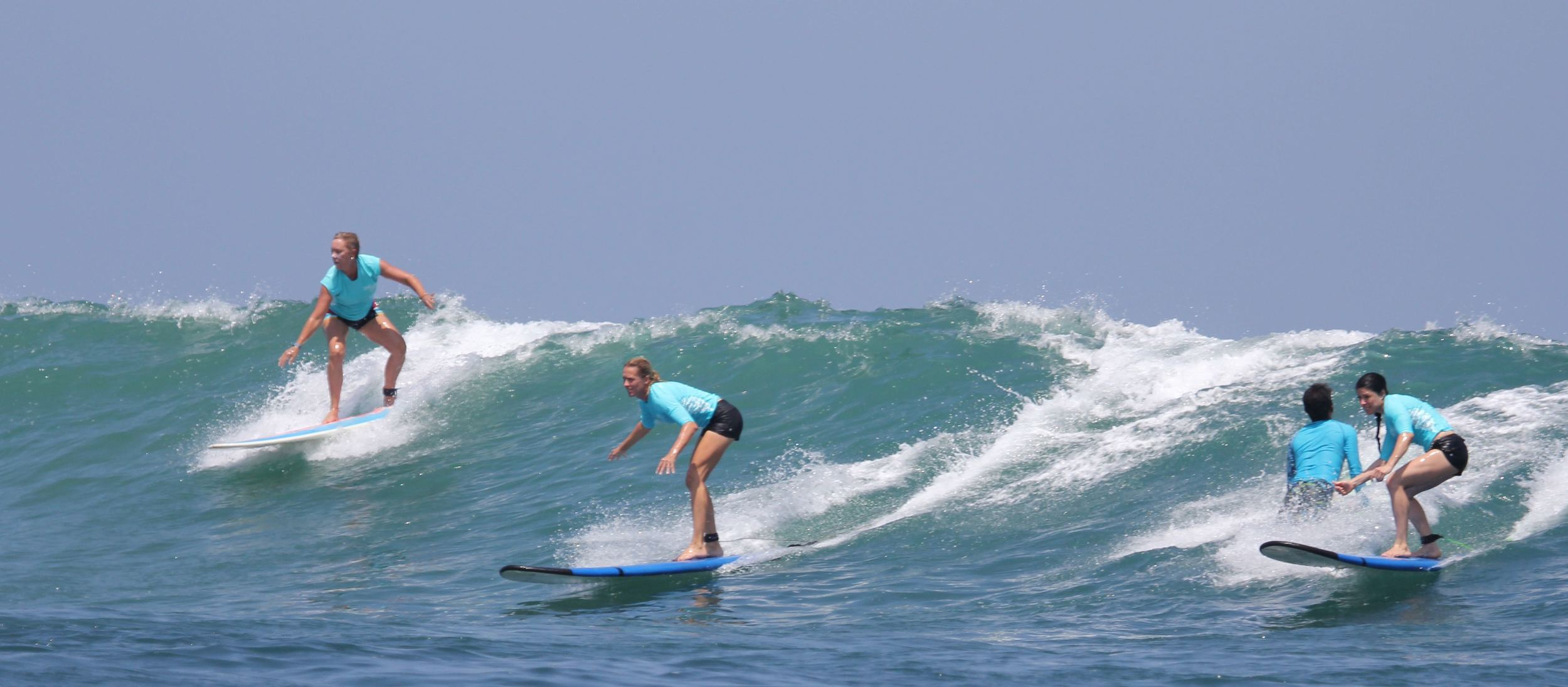 Party wave on Kuta Reef