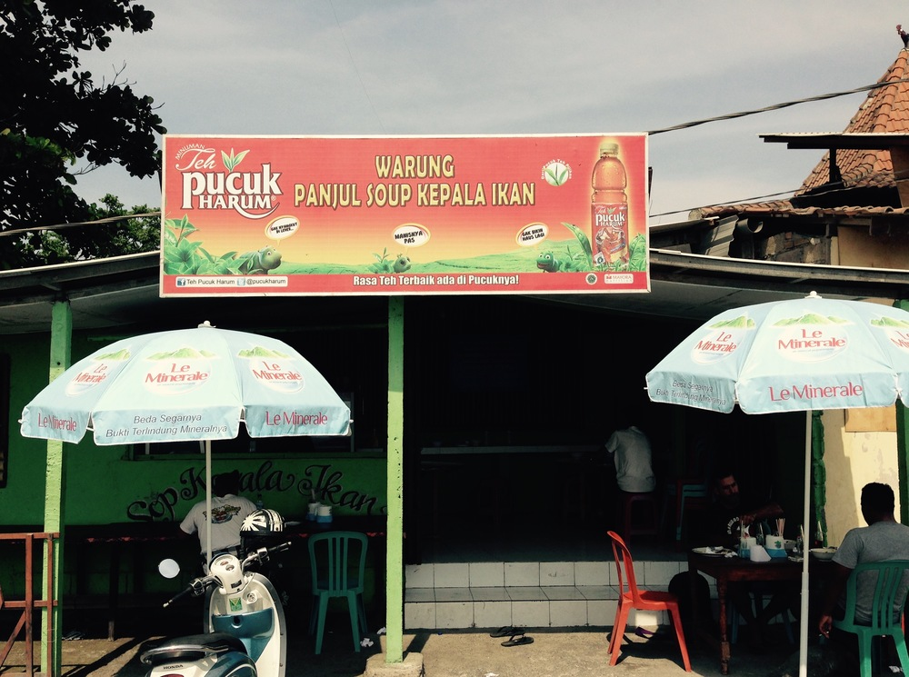 Our new favourite beachside warung
