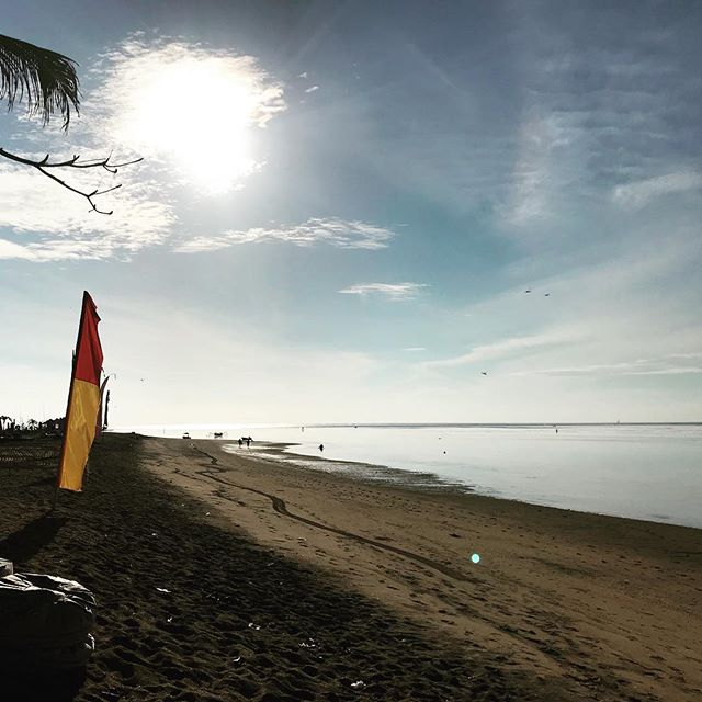 Saturday morning on Sanur Beach, waiting for the tide to come up before heading to the reef for waves. This is the way SHE spends her weekends. Come and join us for our surf and yoga retreats in beautiful Bali this year.  Link in bio for details. 🏄‍♀️🙏🏻