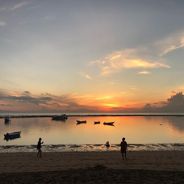 Good morning Sanur! This is our backyard. SHE is so blessed 💕