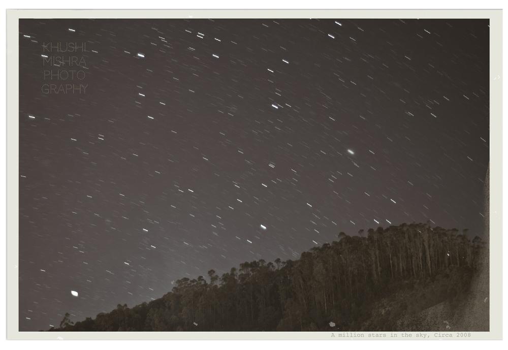 A million stars, Circa 2008