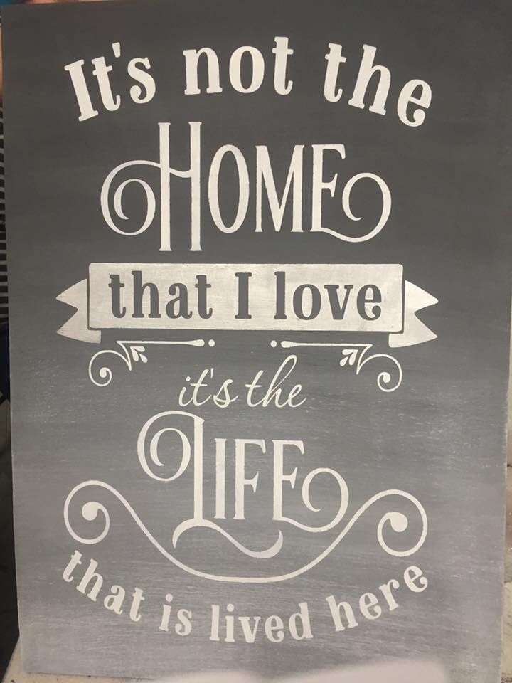 It's not the home that love