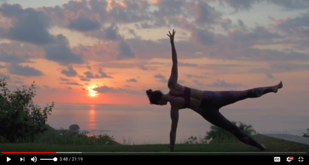 yoga on the fly - free yoga practice videos