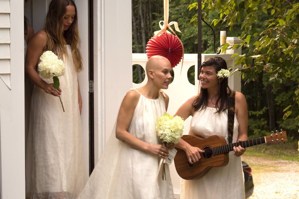 Sissy's wedding.