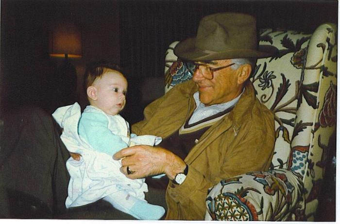Papa and Baby Amanda