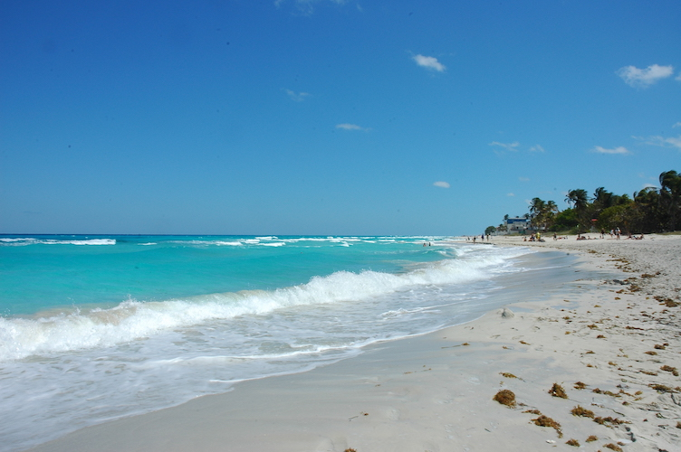 Varadero is a beautiful beach about two hours east of Habana.