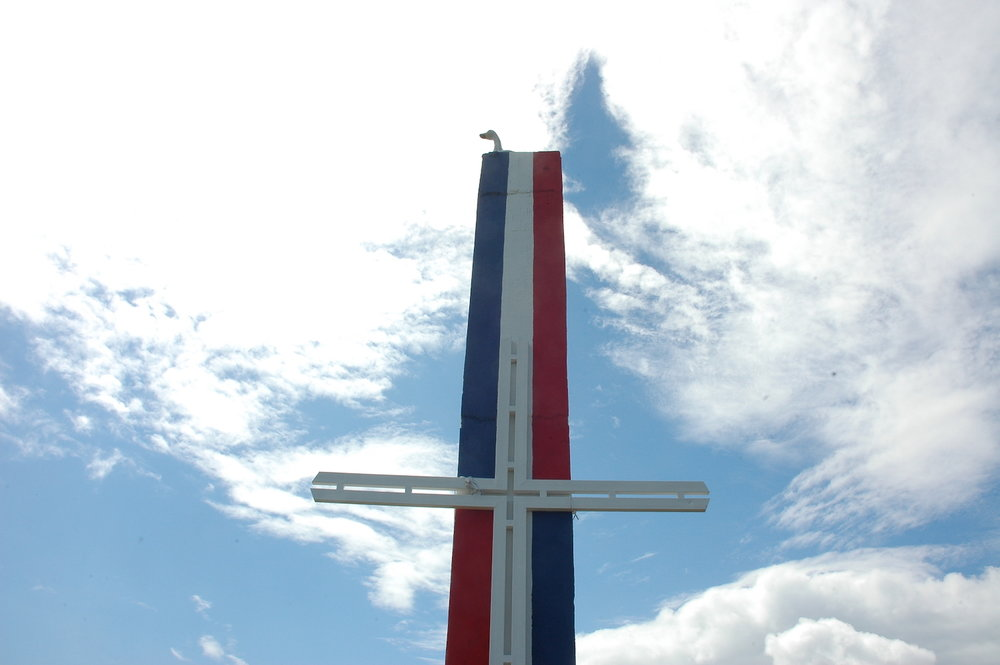 La Bandera de Republica Dominicana!