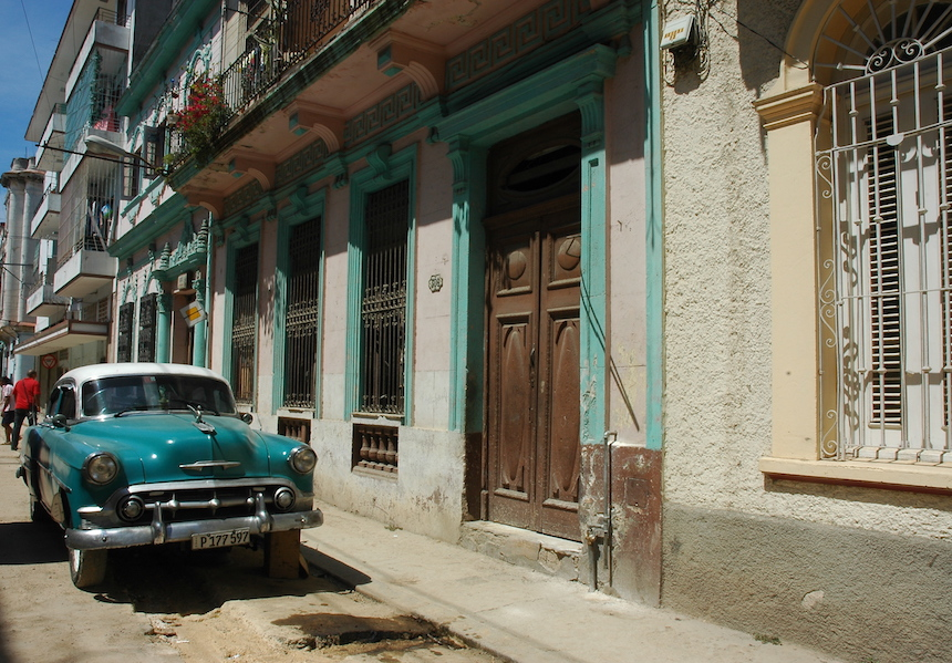 There are many streets in Havana so a map is super helpful