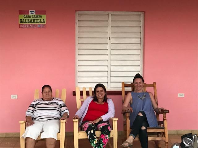 My casa particulares hosts in Vinales