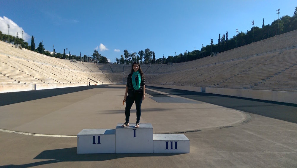As an athlete, the Olympic stadium was a must.