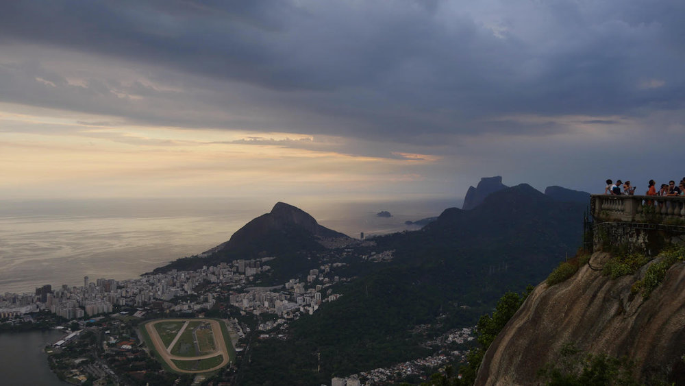 View from the top of Christ the Redeemer, Rio
