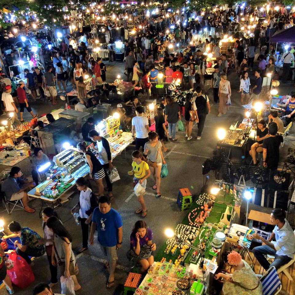 Bangkok has so many markets, and Jatujak Green was my fave. Head down at night for food, vintage clothing, and antiques. It's also packed with Thai hipsters, sat around in bars that wouldn't look out of place in the north of England, listening to punk, ska, and The Smiths.