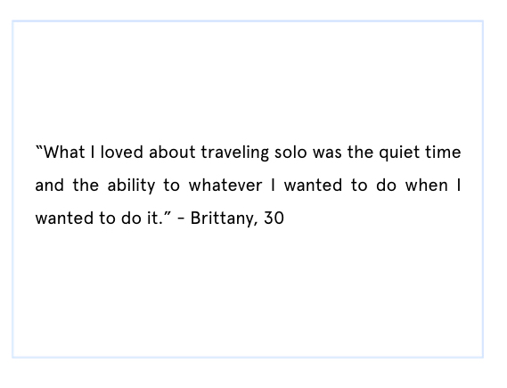 solo travel quote