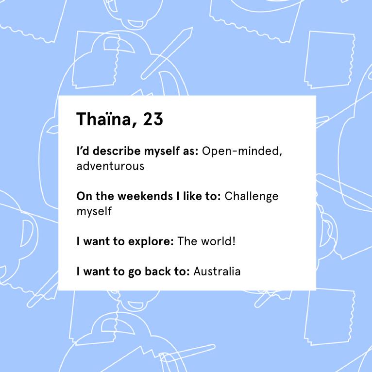 Thaina profile info