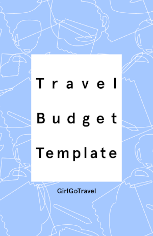 Want to know how much your trip will cost or make sure you're saving enough money for your trip? Save this excel sheet to your Google Drive and use the links to check how much your destination costs.