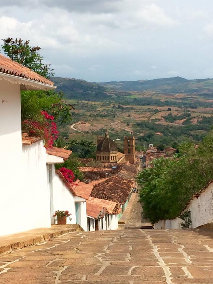 A little colonial and beautiful town near San Gil, Barichara is a huge site for tourists!
