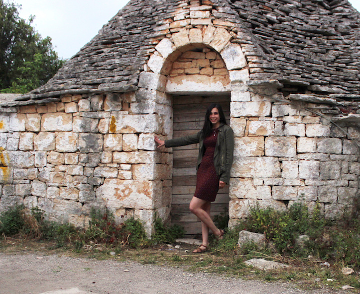 Hanging out in a little neighborhood of abandoned trulli homes in Alberobello. These cute little buildings are a UNESCO World Heritage Site.
