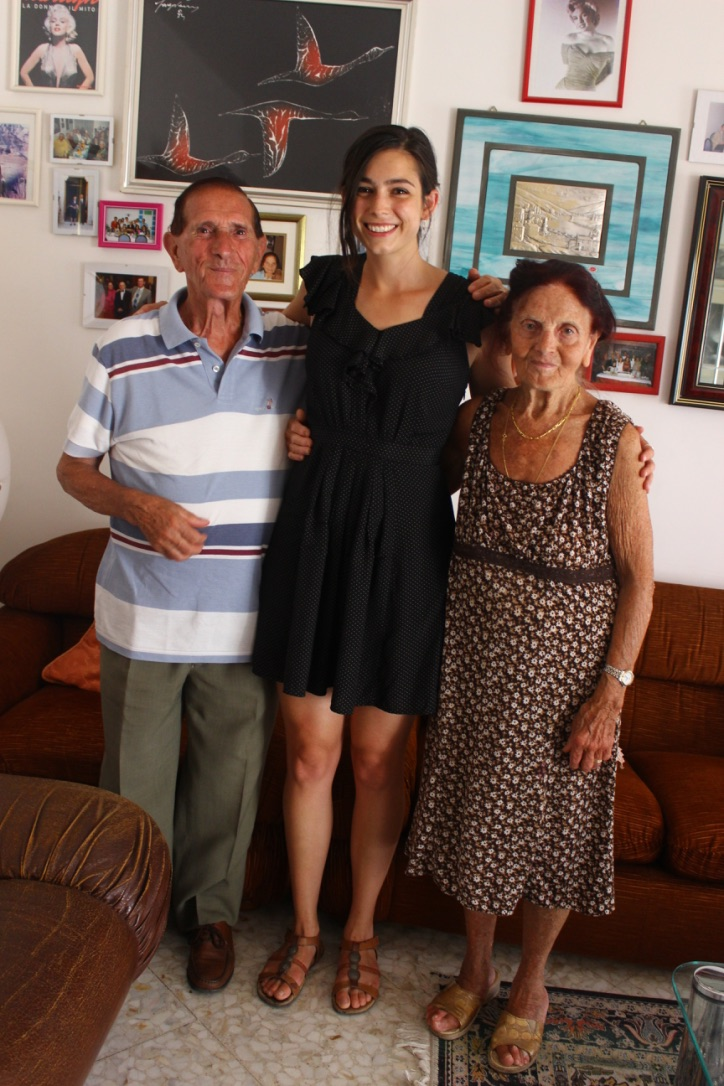 Later they invited me to dine in their home and I was on cloud nine! I later interviewed them for an article and recorded our conversation in Italian. I will forever cherish that recording and that experience.