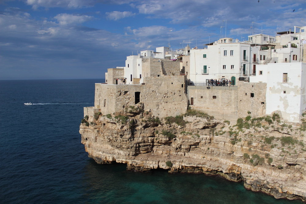 A typical sunny day in Puglia.
