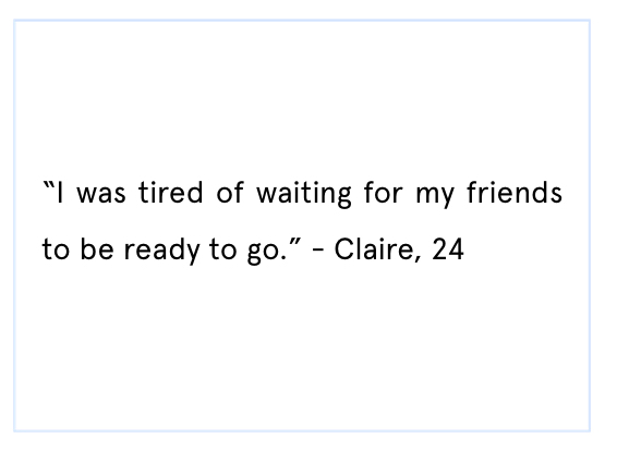 Claire quote