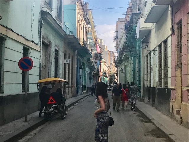 Me in Havana streets