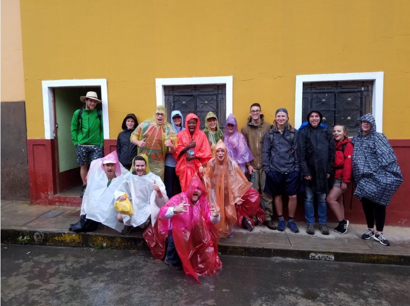 #ALLNEWFRIENDS before an 8-hour hike to Aguas Calientes.     (photo cred: Jesus)