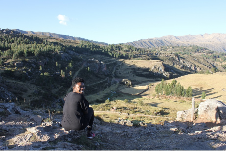 View of Cusco Region from Templo de La Luna.     (photo cred: Maddie C.)