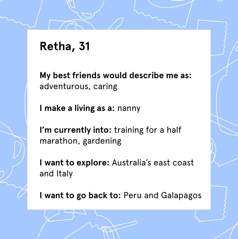 Retha-profile