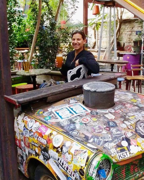 In Budapest, locals turned abandoned buildings and unused spaces into eclectic bars aka Ruin Bars!