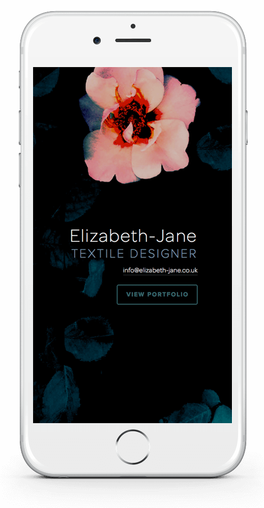 Elizabeth-Jane One Page Website