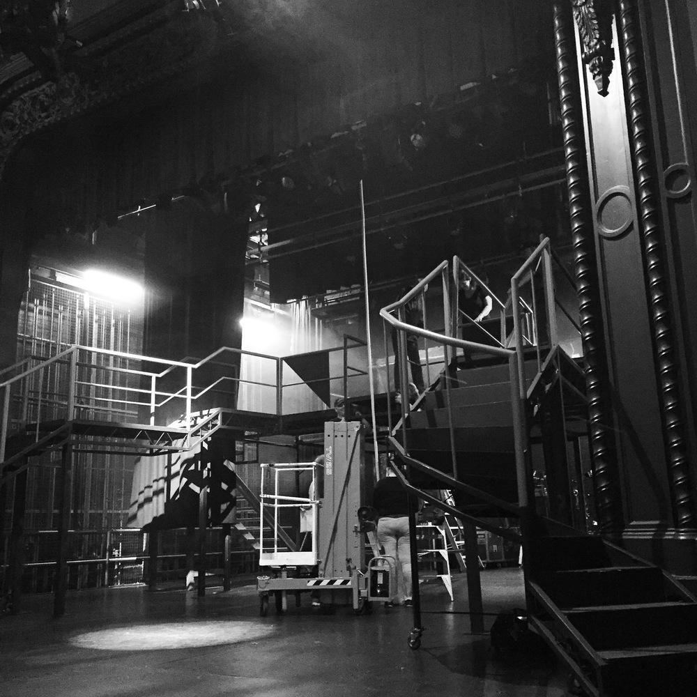 Set construction for 'Chicago' - BTC 2014