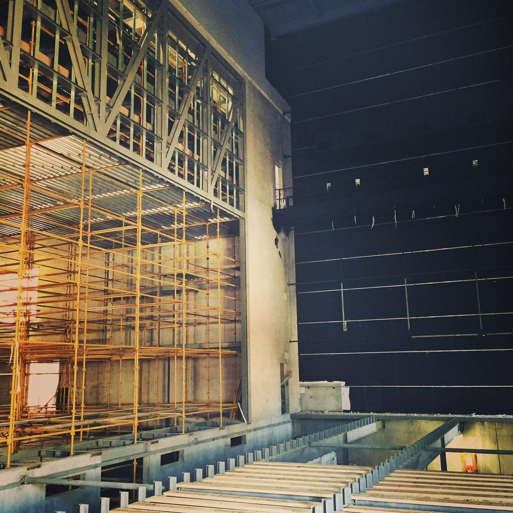 Construction of Ulumbarra Theatre, Bendigo (2014)
