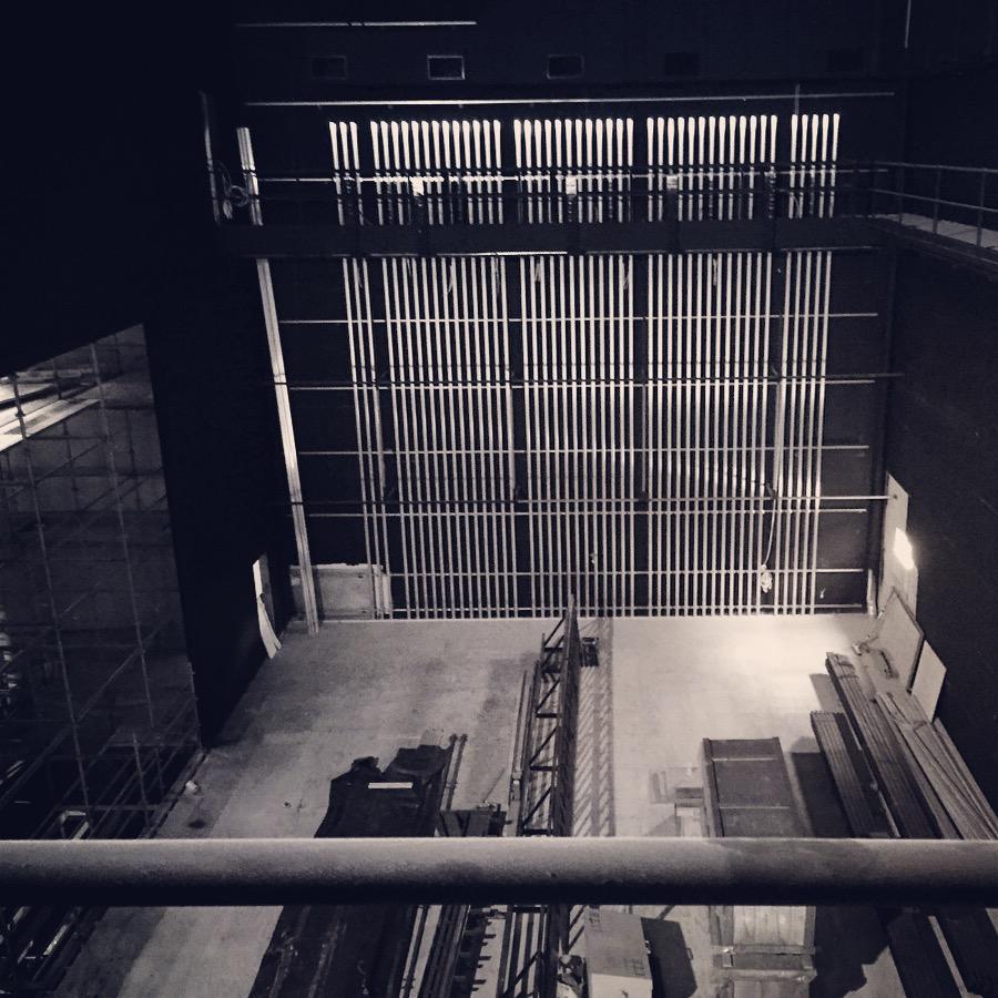 Construction of Ulumbarra Theatre, Bendigo (2014/15)