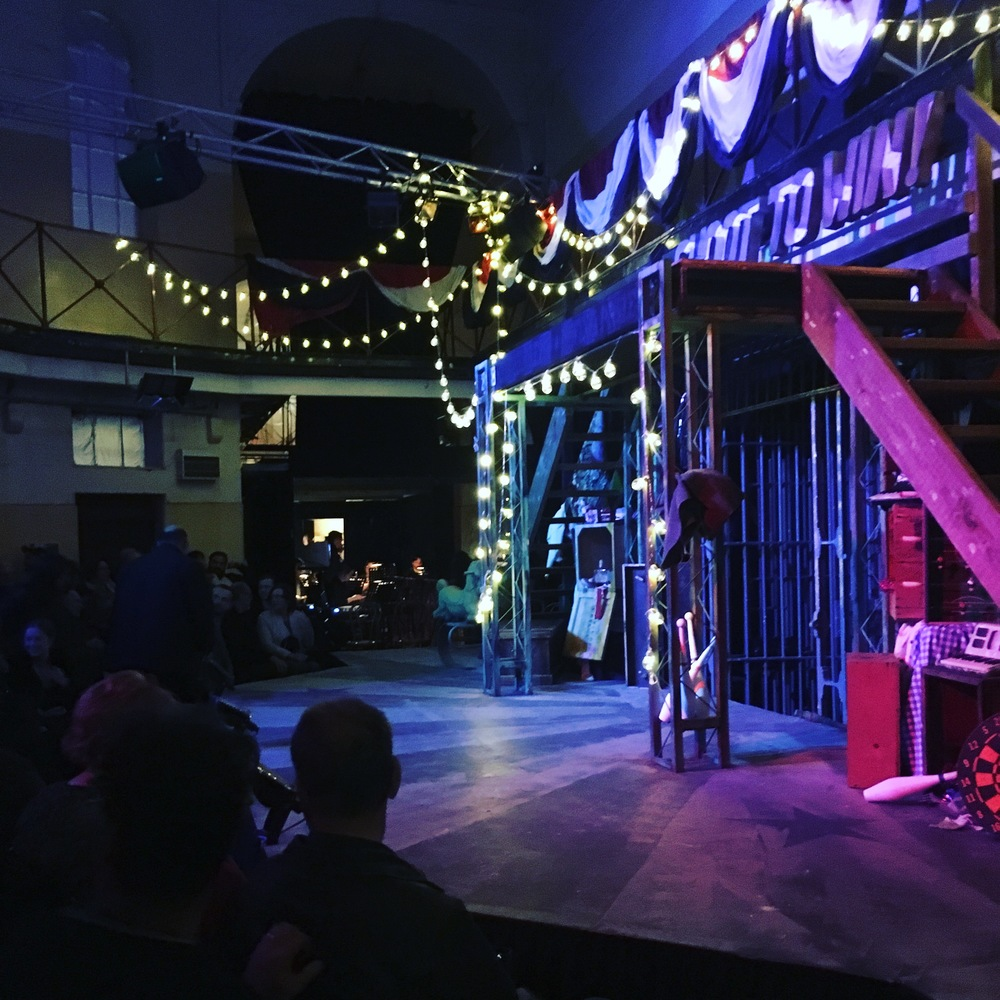 Closing night of 'Assassins' 3aC, Castlemaine, 2016