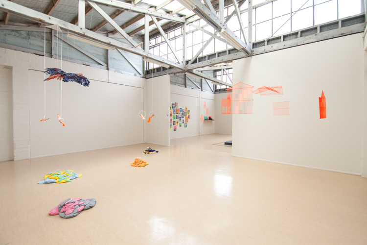 Birds of a Feather: installation view