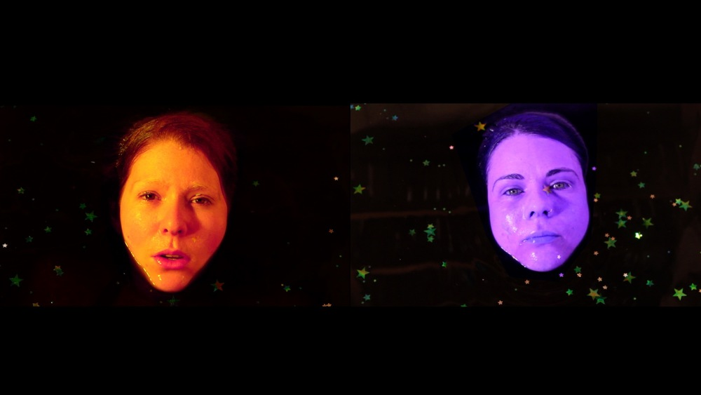 Ray Harris & Celeste Aldahn - Parallel Worlds, 2012, video projection