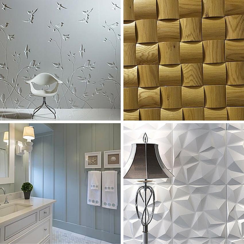 Decorative panel examples