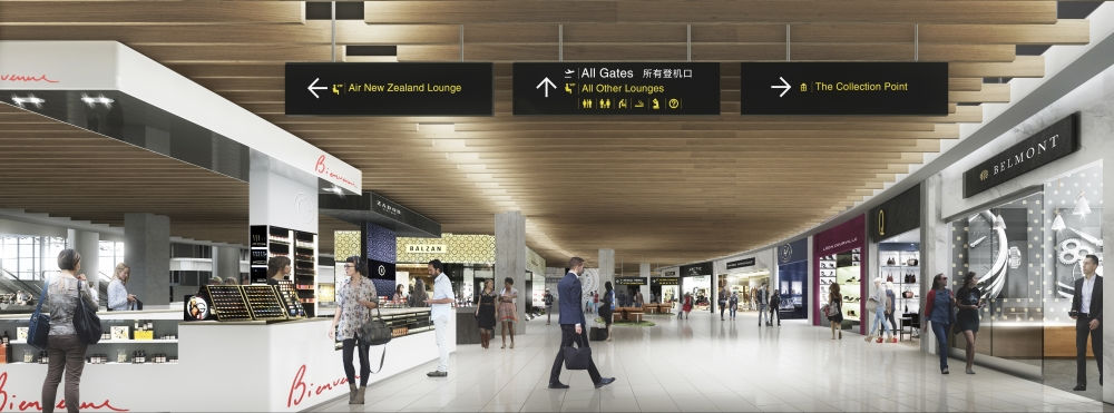 Artist's impression - Auckland International Airport
