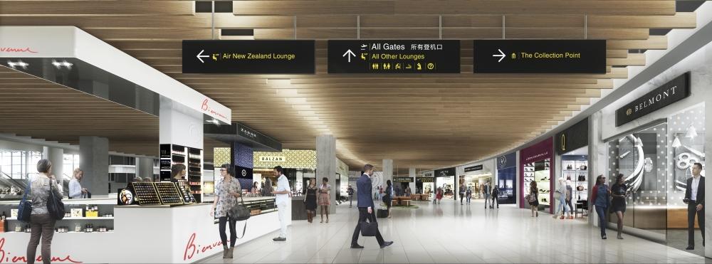 Artist's impression - Auckland International Airport