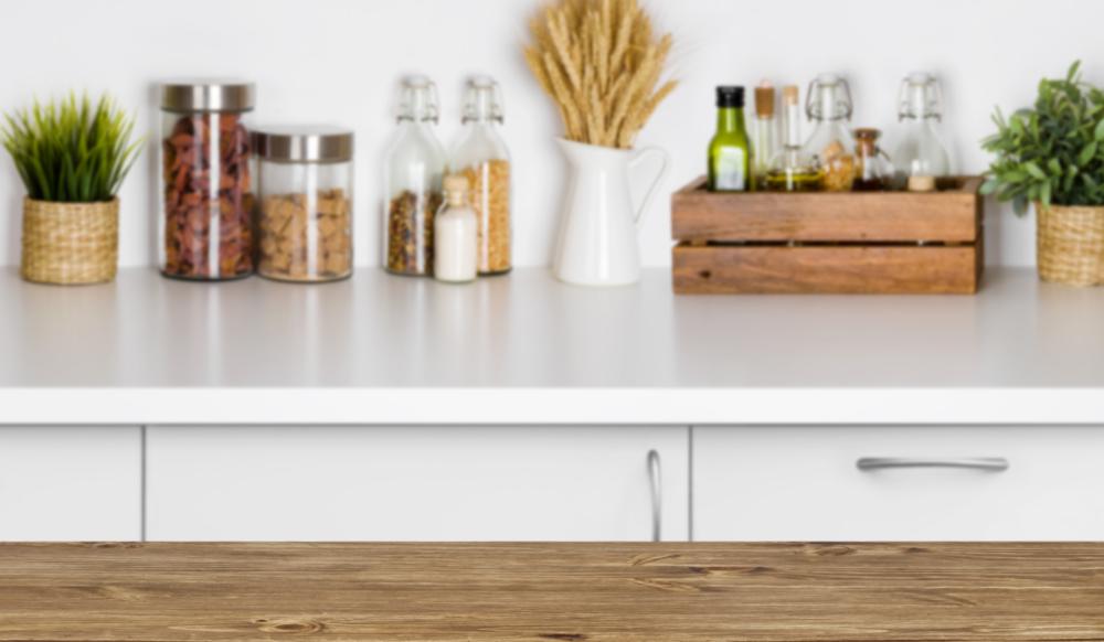 white kitchen cupboards