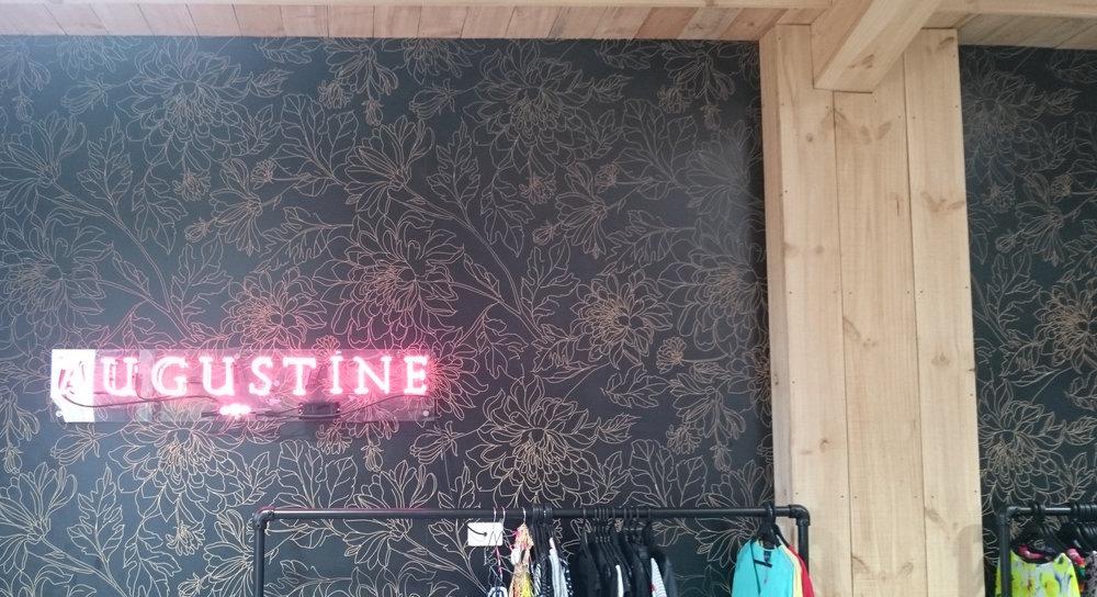 Augustine decorative wall - black flower.jpeg